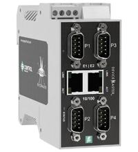 Pepperl+Fuchs ICDM-RX/MOD-4DB9/2RJ45-DIN
