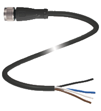 Pepperl+Fuchs V1-G-BK0,3M-PVC-U