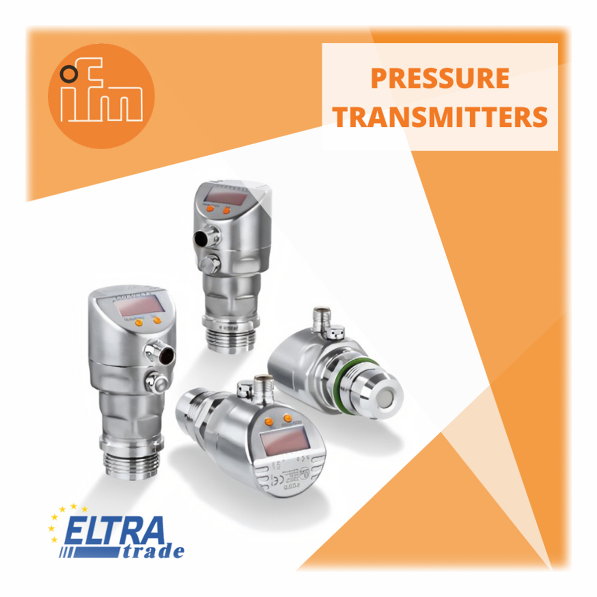 ifm pressure transmitters photo